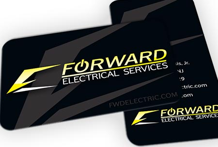 Premium business card printing in motion solutionsin motion solutions forward electric business cards colourmoves