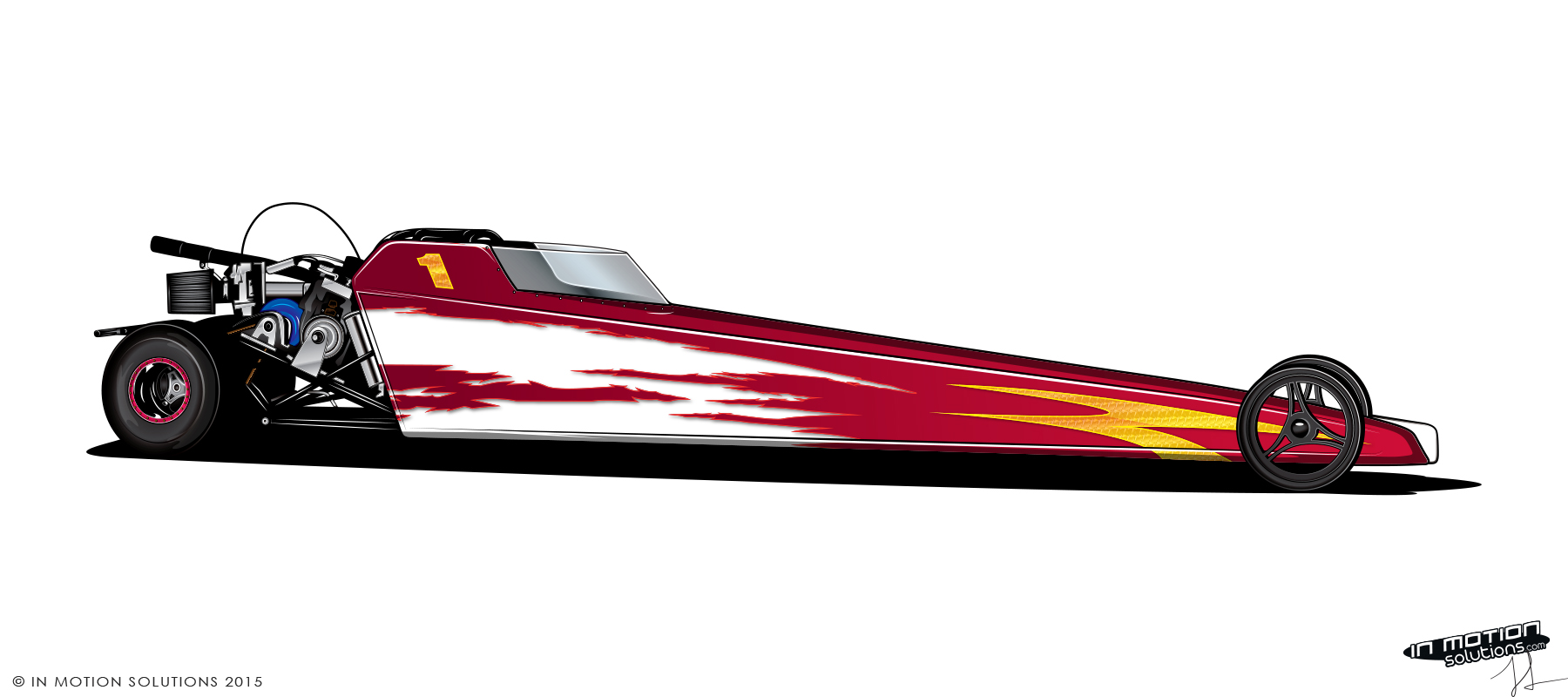 Dragster Paint Designs