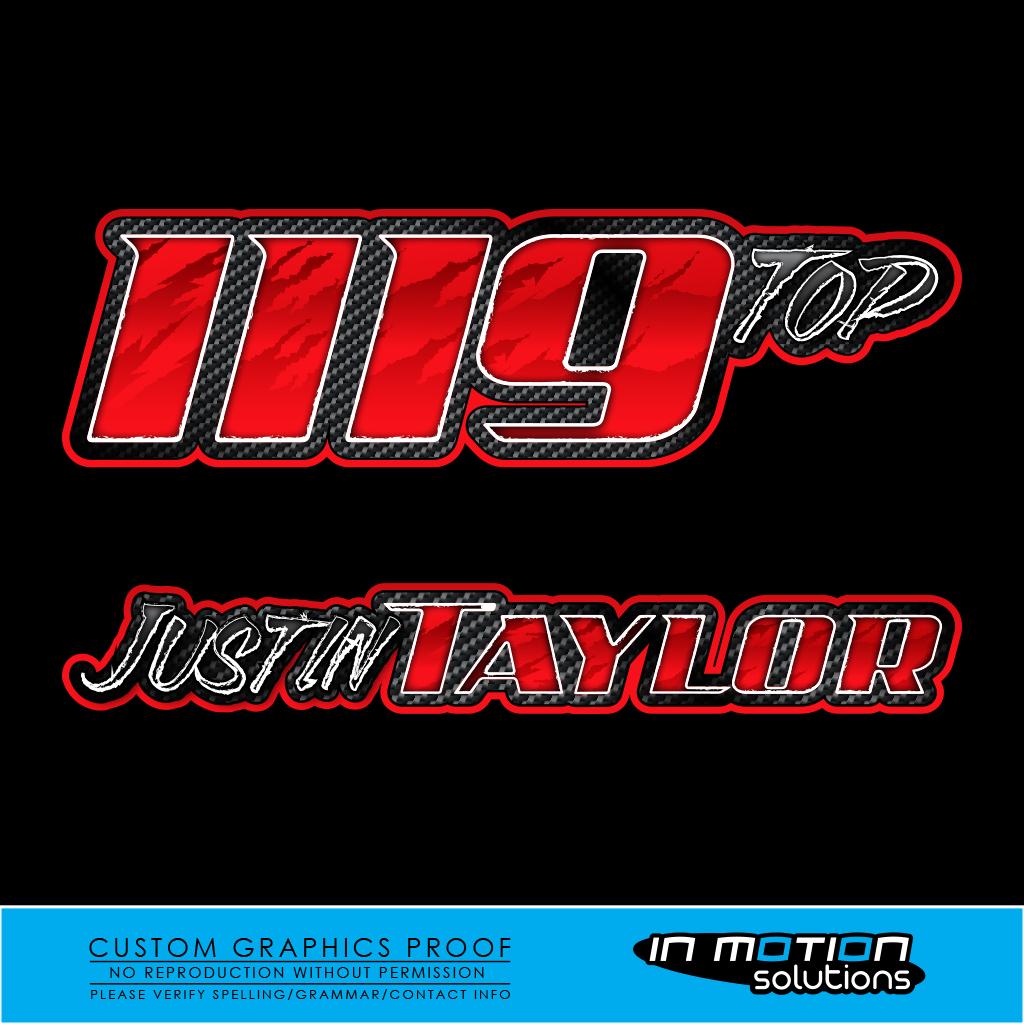 2016 Drag Racing Name & Number Sets - In Motion ...
