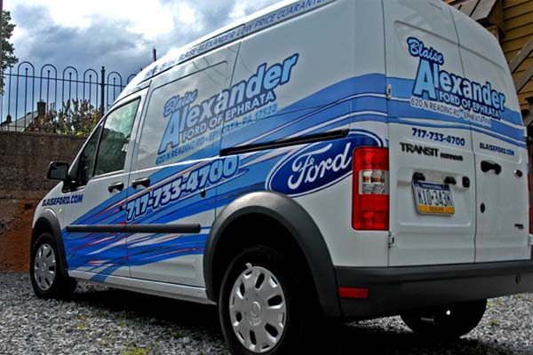 Vehicle Wraps And Lettering In Reading Pa In Motion