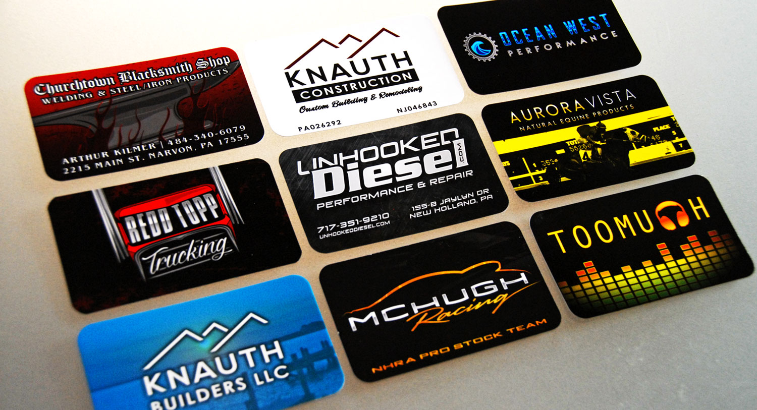 Premium Business Card Printing - In Motion SolutionsIn Motion Solutions