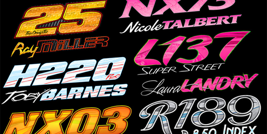 Drag Racing Graphics In Motion Solutions